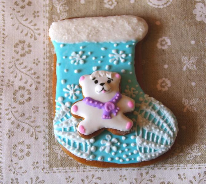 роспись печенья