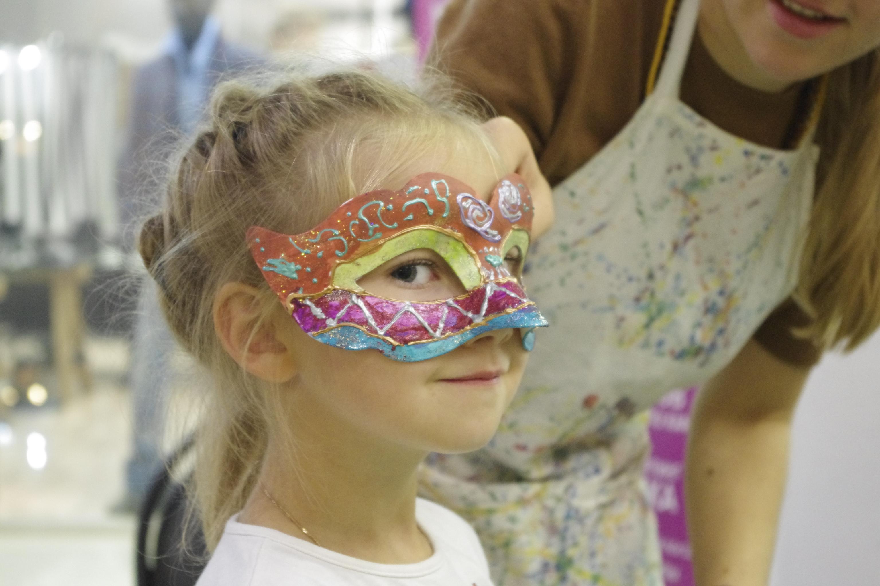 Изготовление маски своими руками с детьми 97