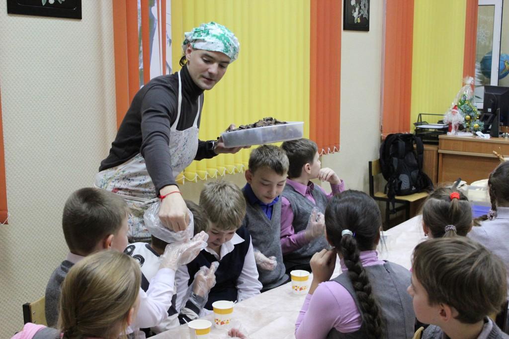 шоколадоварение мастер-класс для детей