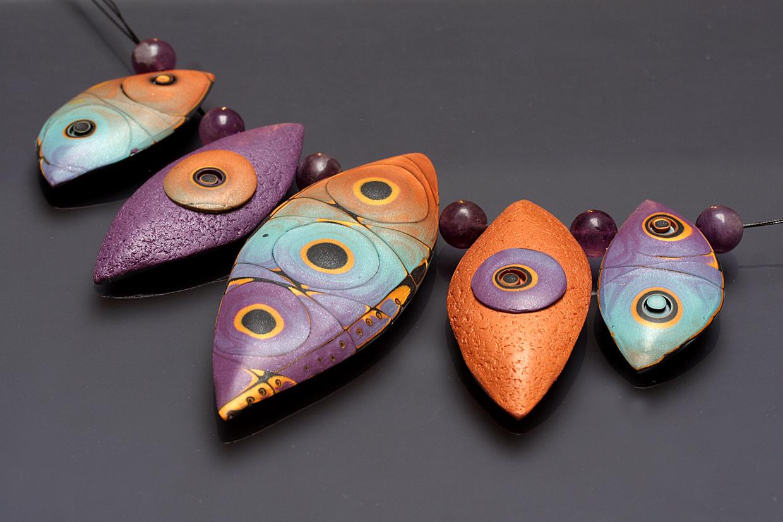 украшения из полимерной глины. полимерная глина мастер класс.
