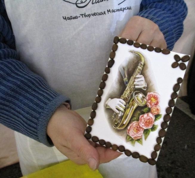 Шоколадная открытка своими руками