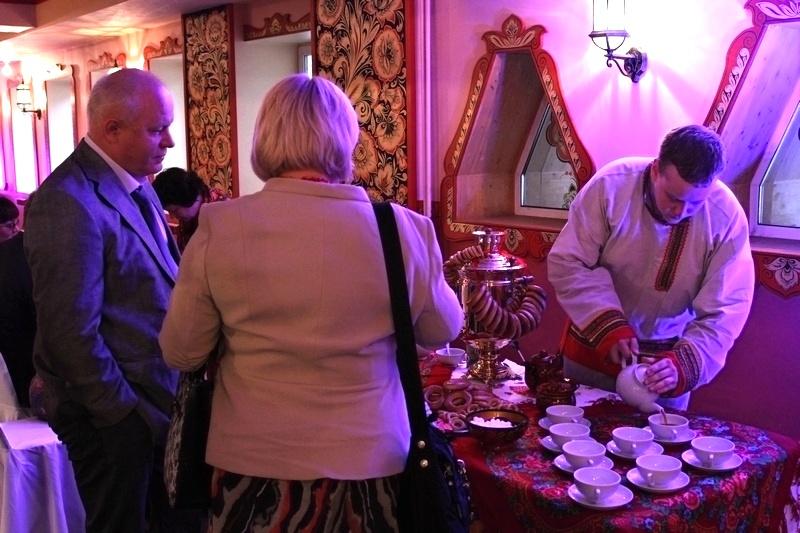чаепитие с самоваром на мероприятие