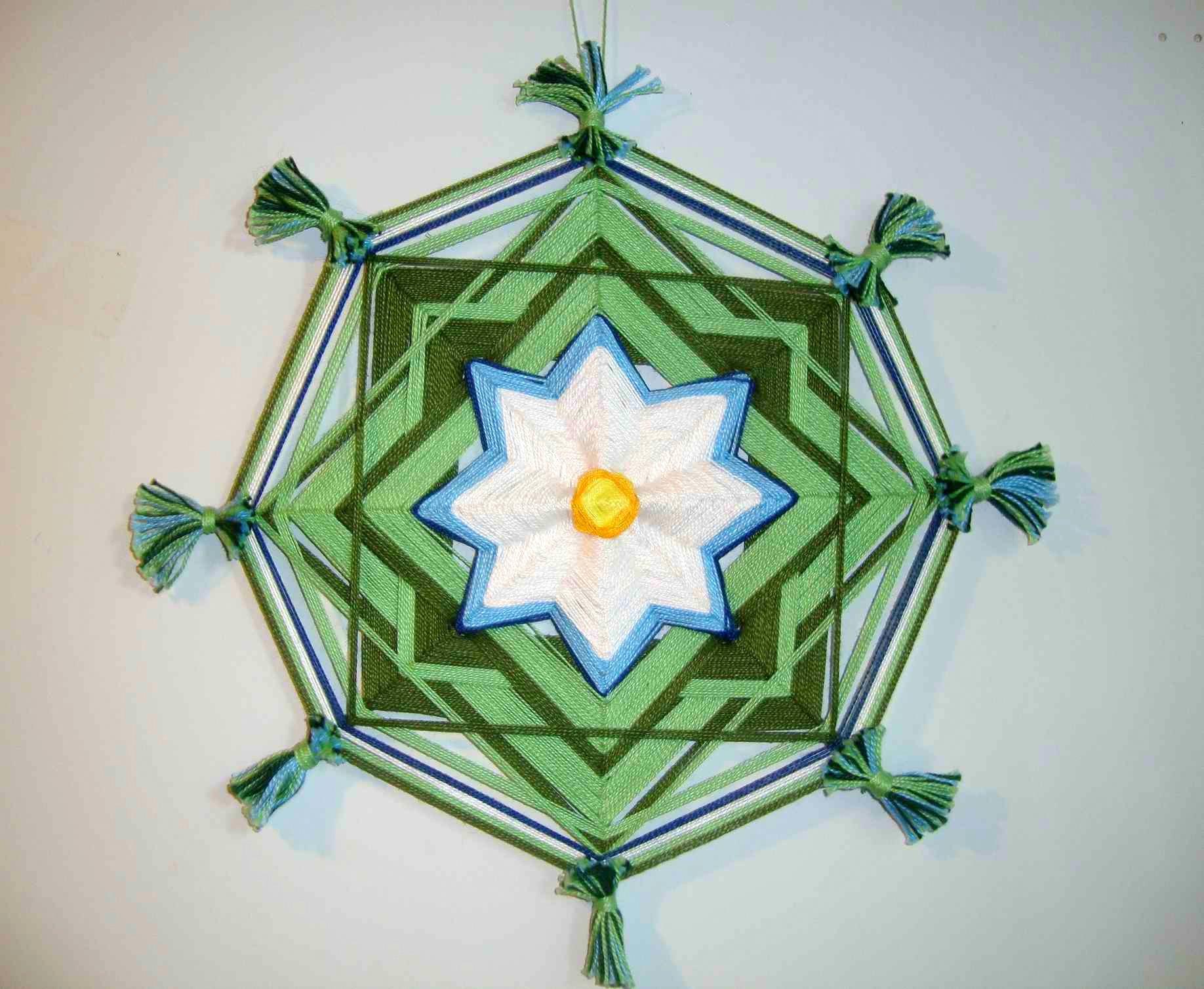 Плетение мандал - творческий мастер-класс в Москве Чайно-Творческая Мастерская