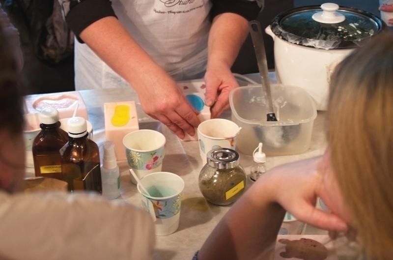 мастер класс мыло
