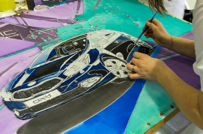 Art Performance Day в автосалоне Ирбис
