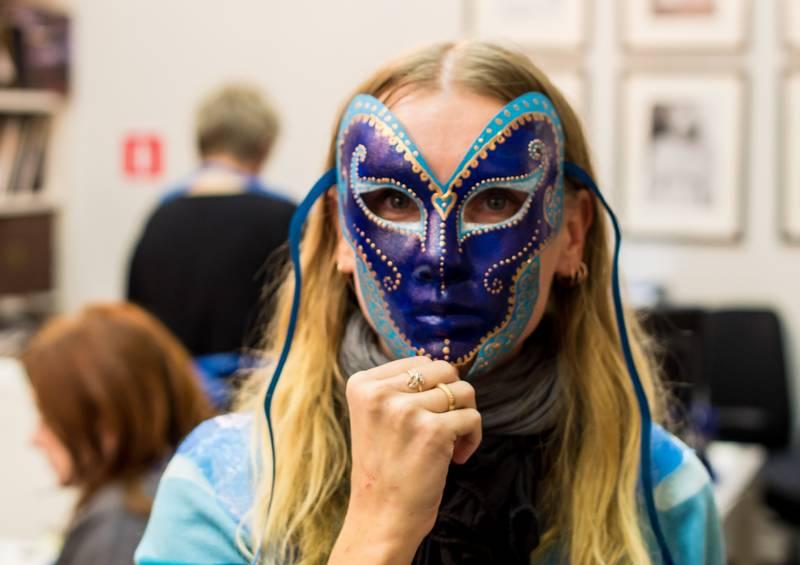венецианская маска карнавал Венеция