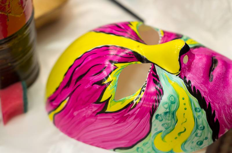 карнавальная маска своими руками