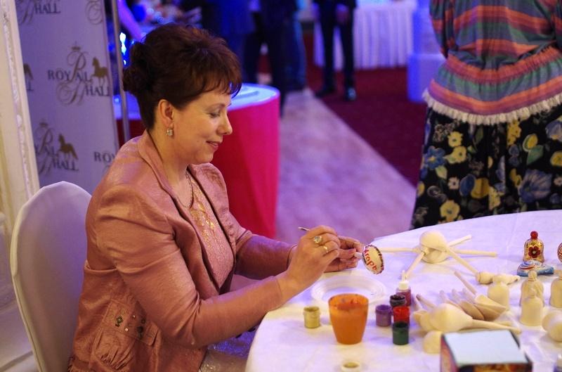 выездные мастер классы на праздник в русском стиле