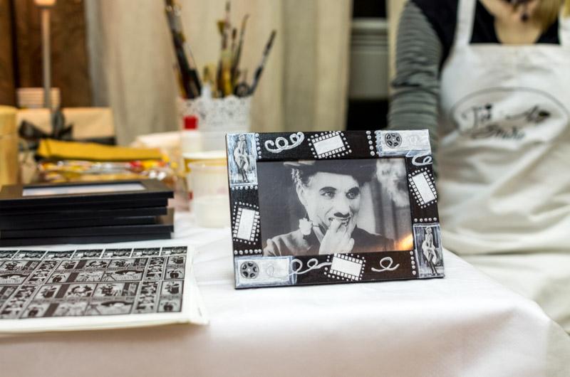 черно белое кино декупаж и роспись мастер классы