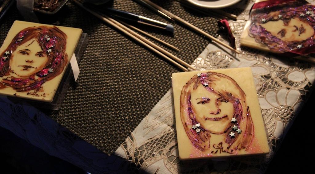 художник по шоколаду в москве