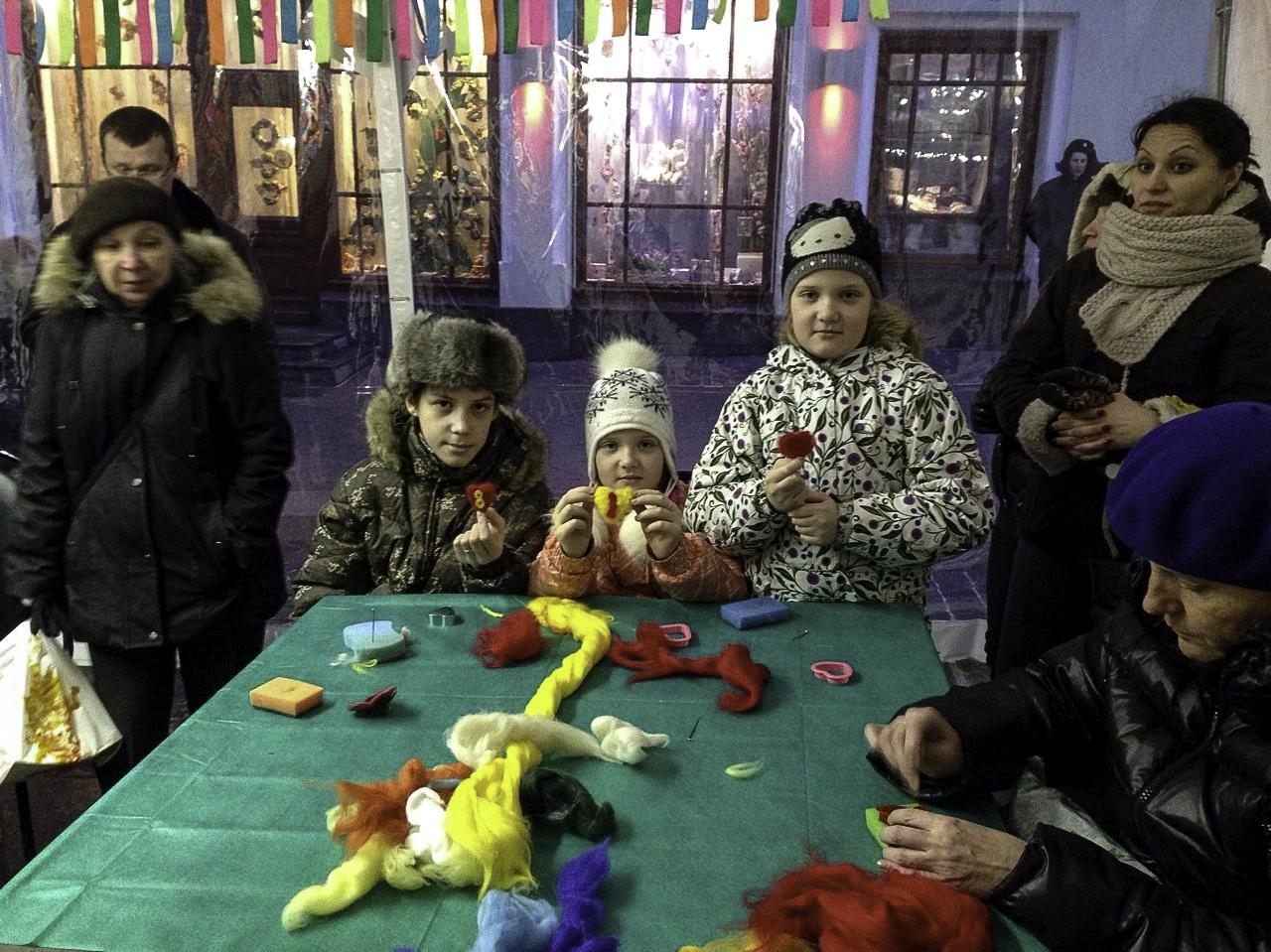 детские праздники мастер классы