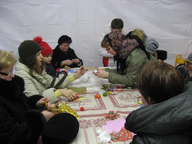 мастер классы и забавы в русском стиле
