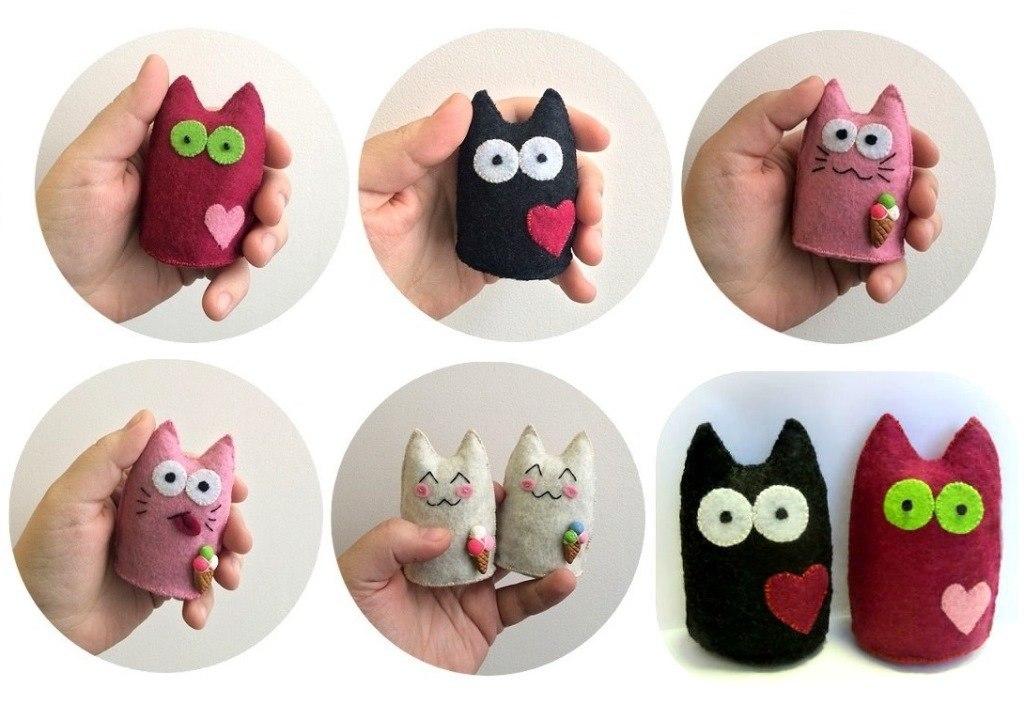 Красивые игрушки своими руками из фетра 145