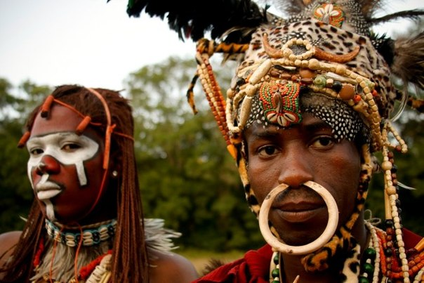 африканские украшения мастер класс