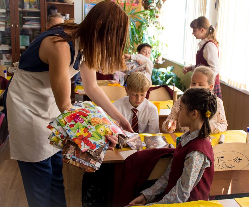 выездной мастер класс для детей