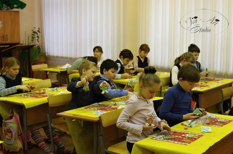 Новогодние мастер-классы в школу