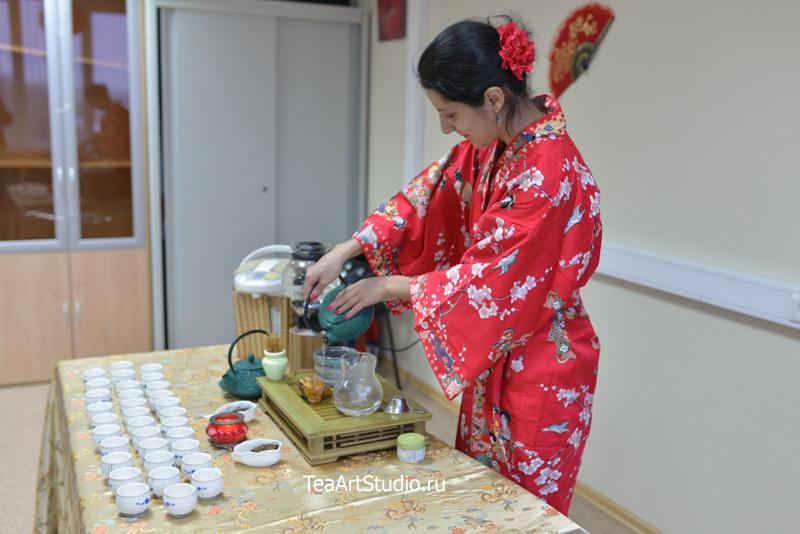 чайная церемония заказать
