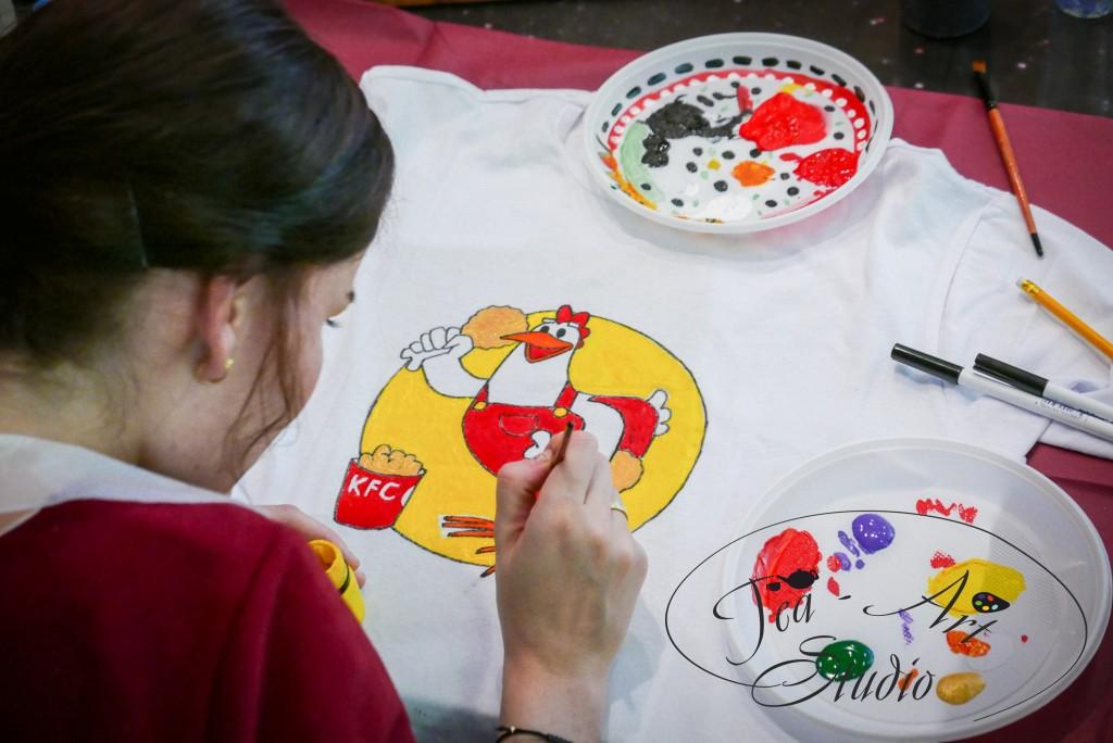 футболки роспись мастер-класс