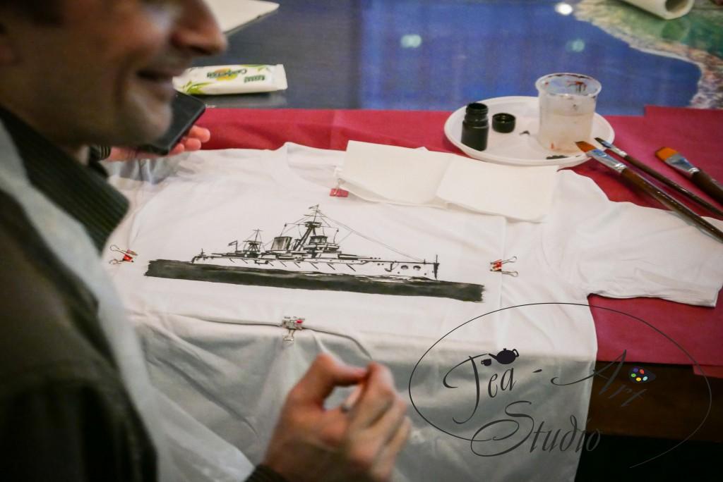 мастер-класс роспись футболок заказать