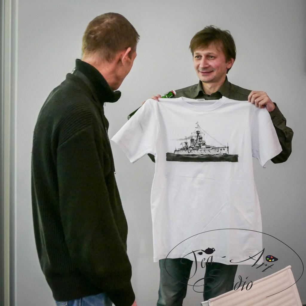 мастер-класс роспись футболок