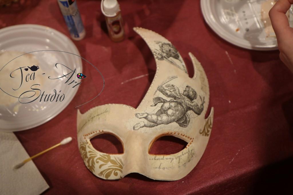 декор венецианских масок