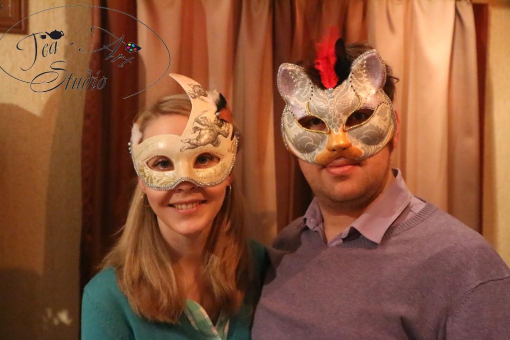 маски венецианские заказать мастер-класс