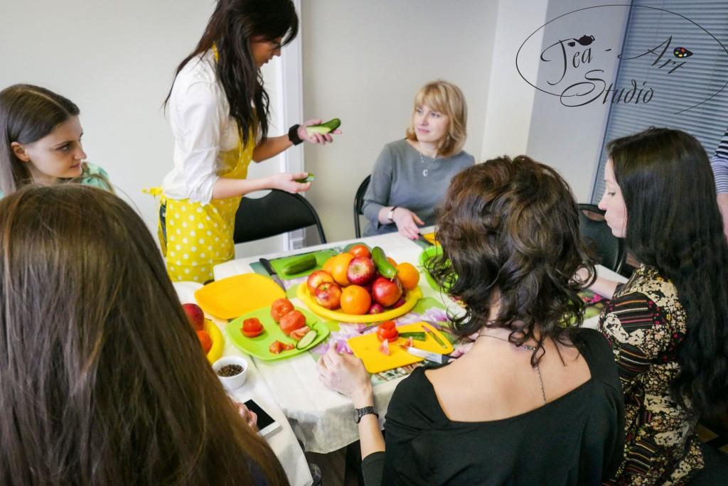 мастер-класс карвинг из овощей