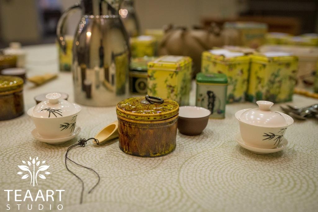 чайная мастерская купаж чая выездной мастер-класс