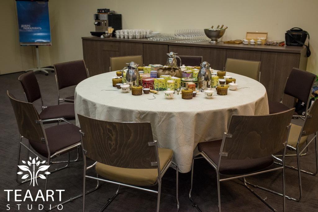 выездной чайный мастер-класс купаж чая teaartstudio