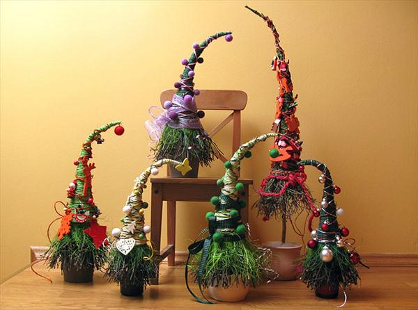 handmade-christmas-trees-ideas-unusual-form-peak