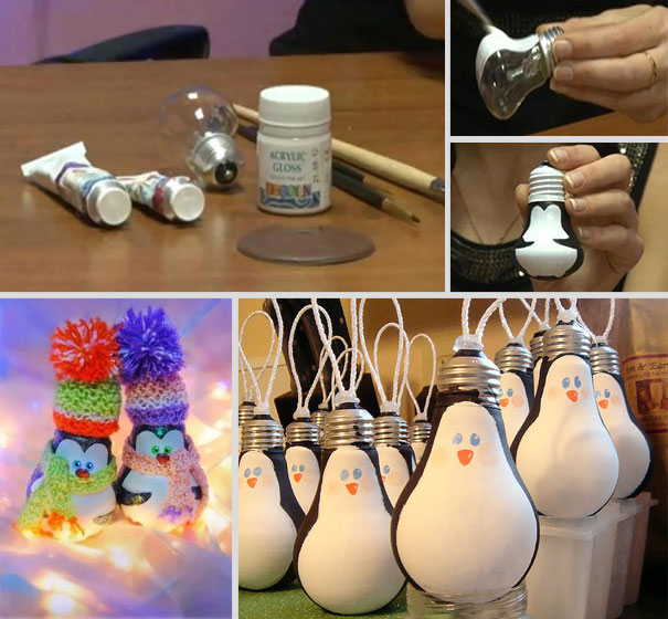 Идеи для ёлочных игрушек своими руками