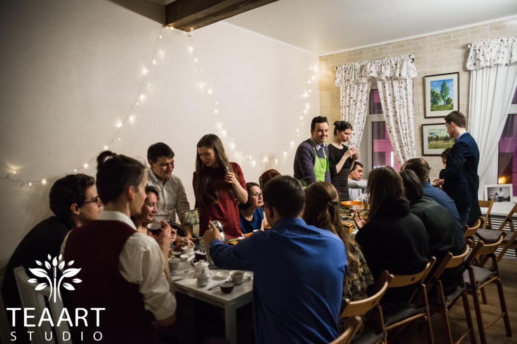 Чайный купаж на свадьбе - выездной мастер-класс