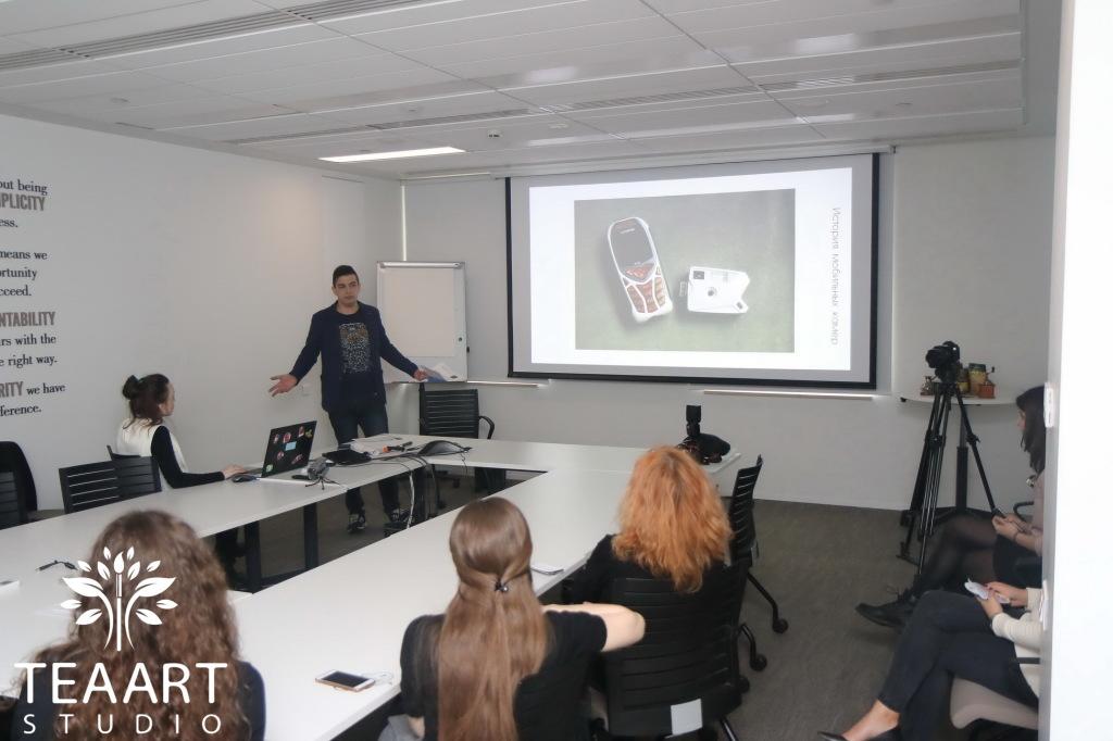 Мастер-классы и лекции в офисе