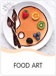 Фуд арт мастер-класс - картины едой - food art