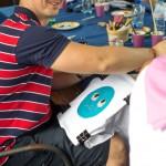 роспись футболок выездной мастер класс